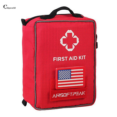 First Aid Kit Emergency Medical Bag Home Car Travel Treatment Survival Rescue