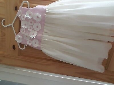girls beautiful party dress age 12-18 months