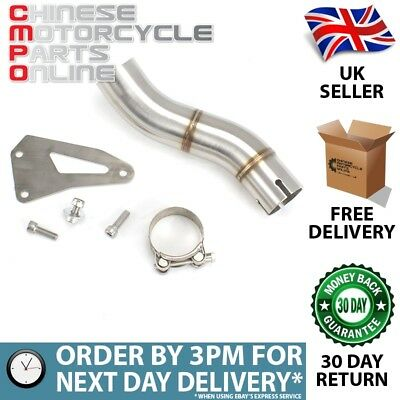 Lextek Stainless Steel Link Pipes for TRIUMPH Speed Triple 1050 2011-2015 #060