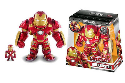 "Avengers 2: Age of Ultron - Iron Man & Hulkbuster 15cm(6"") Metals Die-Cast AFig"