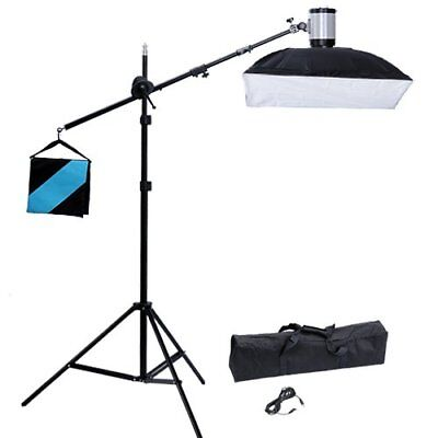 vidaXL SET STUDIO FOTO ILLUMINAZIONE FLASH SOFTBOX 50X70CM STATIVO GIRAFFA BORSA