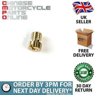 5mm Carburettor Main Jet Size 115 (CRBJT018)