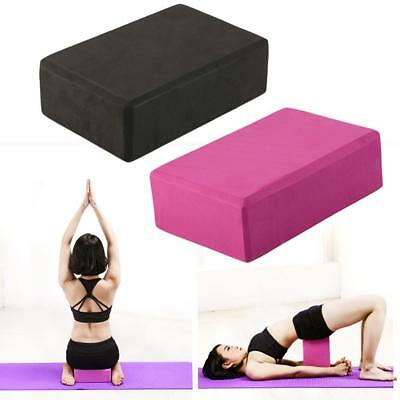 Home Yoga Block Foaming Foam Brick Exercise Fitness Stretching Aid Gym Tool AM