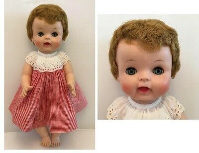 """Vintage 50's American Character Toodles Baby Doll 16"""""""