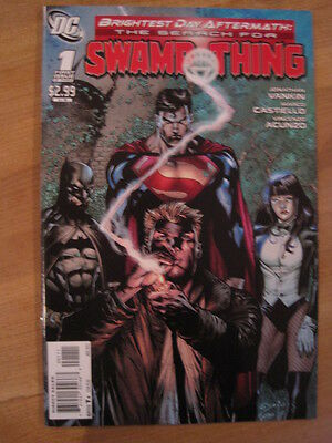 SWAMP THING, the Search For.. # 1. BRIGHTEST DAY AFTERMATH. HELLBLAZER. DC.2011