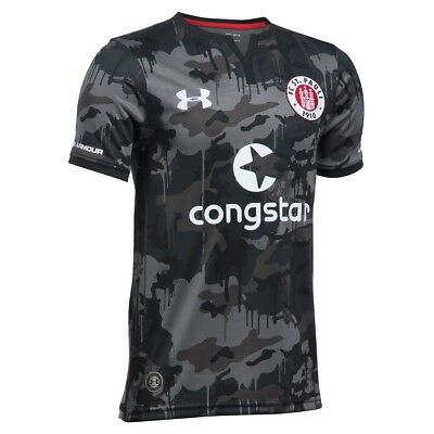 Under Armour FC St. Pauli Kinder Third Trikot 2017/18 Ausweichtrikot 1302759-042