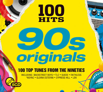 Various Artists : 100 Hits: 90s Originals CD (2017) ***NEW***