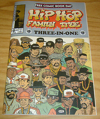 Hip Hop Family Tree: Three-In-One #1 VF/NM tupac shakar - notorious big  run dmc