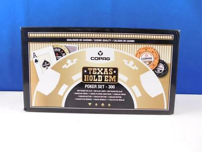 Copag 10.40.07.337 - Texas Hold em Poker 300 Chips Spielchips Buttons Spielzeug