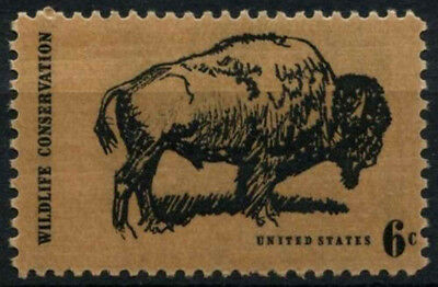 USA 1969 SG#1382 Wildlife Conservation Bison MNH #D55456