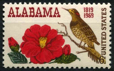 USA 1969 SG#1362 Alabama Statehood Bird MNH #D55450