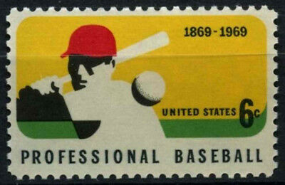 USA 1969 SG#1369 Baseball MNH #D55451