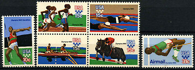USA 1979 SG#1764-A1769 Olympic Games MNH Set #D55490
