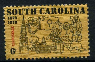 USA 1970 SG#1403 South Carolina MNH #D55460