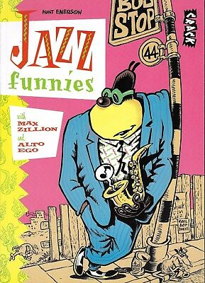 Hunt Emerson - Jazz Funnies - Knockabout Publications 1986 - London Uk
