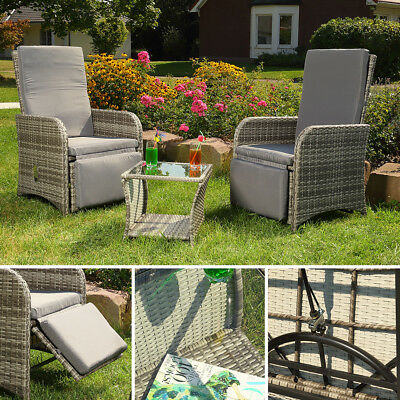 2er set polyrattan st hle gartenstuhl sessel rattanstuhl gartenm bel b ware eur 40 50. Black Bedroom Furniture Sets. Home Design Ideas