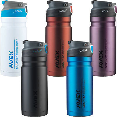 Avex 17 oz. Recharge Autoseal Stainless Steel Travel Mug