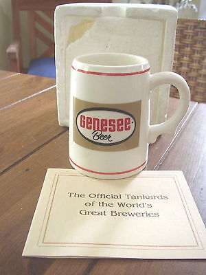 Genesee Beer mini collectible Porcelain Mug, Franklin Mint