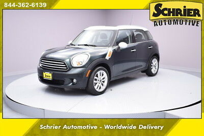 2014 Mini Cooper  14 Mini Cooper Oxford Green FWD Alloy Wheels Aux USB