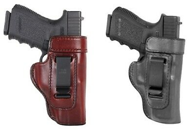 Don Hume H715-M Inside Pant Waistband Clip-On Concealment Leather Gun Holster