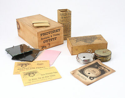 MAGIC INTRODUCTION PHOTORET BOXED OUTFIT WITH FILM + DEVELOPING KIT/cks/193410