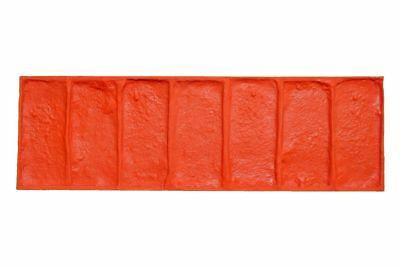 Georgetown Brick | 4 pc. Concrete Stamp Set for Borders by Walttools