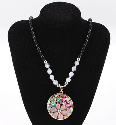 Women's Vintage Fashion Jewelry Hot Charm Crystal Pendant Necklace HOT C2