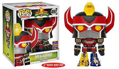 "Power Rangers - 6"" Megazord Pop Vinyl Figure - SDCC 2017(RS)"