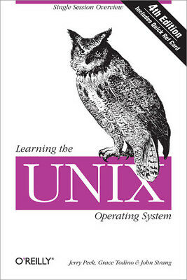 Learning the UNIX operating system by Grace Todino (Paperback)