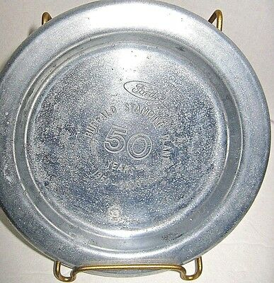FORD Buffalo Stamping Plant Metal Plate 1950 - 2000