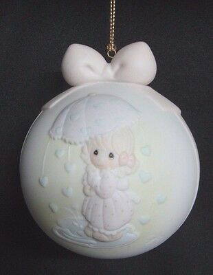 PRECIOUS MOMENTS Signed Ornament  AN EVENT SHOWERED WITH LOVE 1994 CALIFORNIA