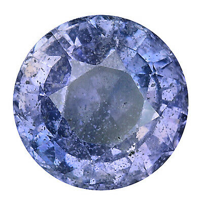 1.440 Cts Excellent Luster Purple Blue Natural Sapphire Round Gemstones