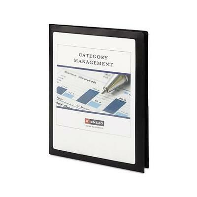 Smead Two-Pocket Poly File Folder, Frame View, Letter, 5 per Pack New