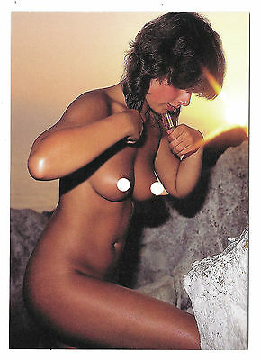 Cp A51 Pin-Up Nue Topless Miss Naturiste Photo Sexy Klaus Ender Allemagne Ddr