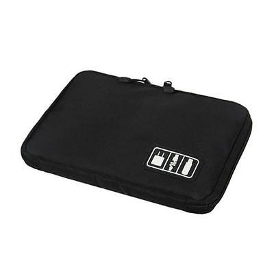 Travel Digital Electronic Accessory Case Cable USB Drive Insert Organizer Bag SP