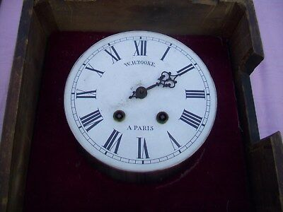 W.h.tooke, A Paris Mechanical Movement. And A Wall Clock.