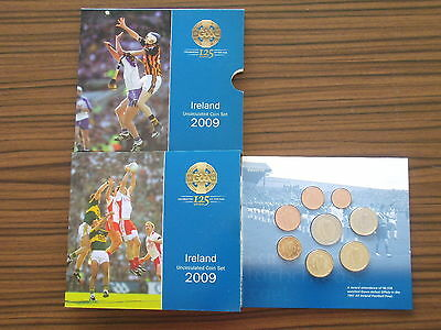 Irland 2009 Euro KMS ST 125 Jahre GAA Sport Klubs / Ireland coin set BU sports