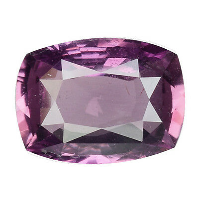 1.625 Cts Glorious Pinkish Purple Natural Certified Unheated Sapphire Cushion