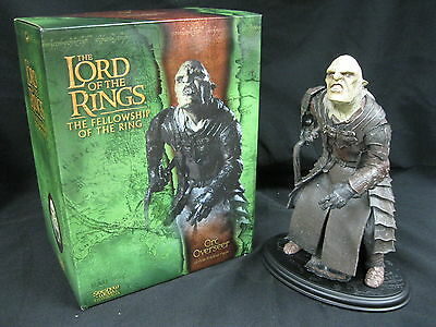 Lord Of The Rings Orc Overseer! Sideshow Weta! 1/6 Scale Polystone Statue!