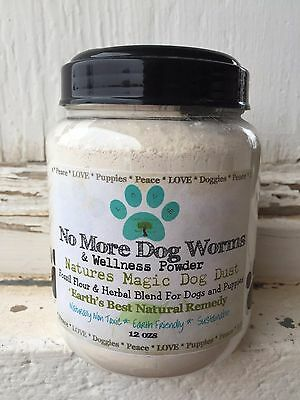 Natural Dog & Puppy Dewormer Dog Worm Treatment Dog Wormer