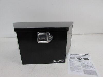Buyers Products 1701281 Toolbox (Trailer Tongue, Black Powder)