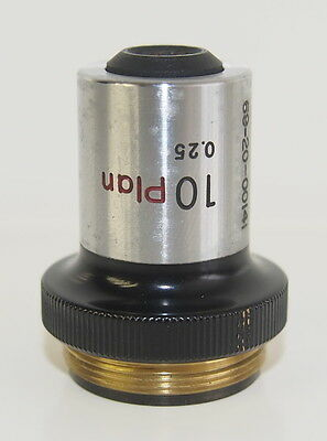 Nikon 10 Plan 0.25 10X Microscope Objective
