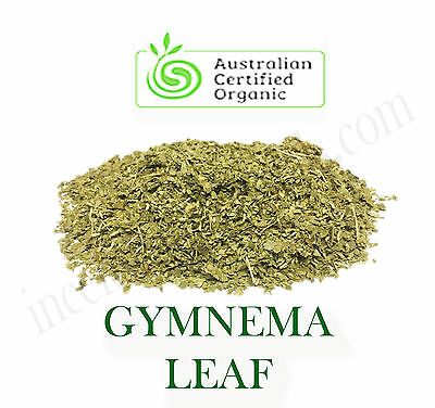 GYMNEMA (Gymnema sylvestra) Certified Organic Dried Leaf Herb/Tea