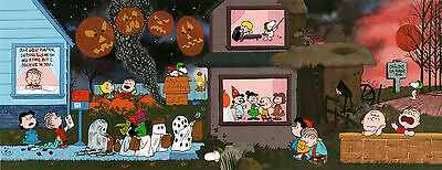"PEANUTS ""A Night to Believe"" Ltd Ed Cel - 'IT'S THE GREAT PUMPKIN CHARLIE BROWN'"