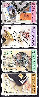 1992 HONG KONG STAMP COLLECTING mint unhinged