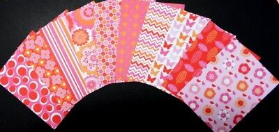 *PEONY HUES* Colourful Scrapbooking/Cardmaking Papers - Sugar & Spice Studio