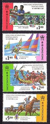 1995 HONG KONG INTERNATIONAL SPORTING EVENTS mint unhinged
