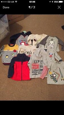 BOYS 18-24 Months Tops And Jumpers Bundle