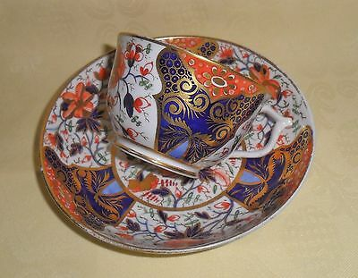 SUPERB (ROYAL CROWN) DERBY IMARI CUP AND SAUCER C1810 (a)