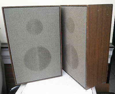 1970 Casse Loewe Opta Lo 15 Altoparlanti Vintage Wood Box  Lautsprecher Speakers
